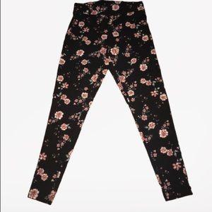 Torrid floral legging size 0
